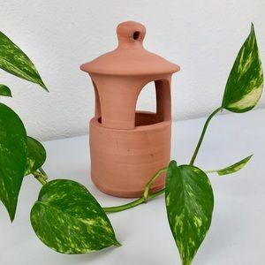 Williamsburg Pottery Terra Cotta Clay Lantern